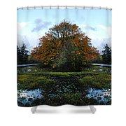 Center Island Shower Curtain