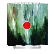 Center Of The Universe  Shower Curtain