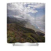 Central Oregon Coast Vista Shower Curtain