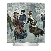 Central Park, Nyc, 1877 Shower Curtain