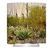 Century Plant Shower Curtain