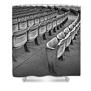 Chair Seating In An Arena With Oak Leaf Shower Curtain