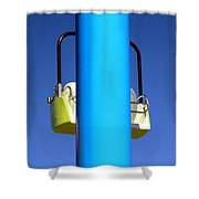 Chairlift Cart Shower Curtain