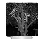 Chairy Tree Shower Curtain