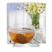 Chamomile Tea Shower Curtain
