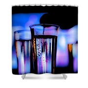 Champagne Shower Curtain by Hakon Soreide