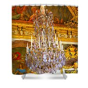 Chandelier At Versailles Shower Curtain