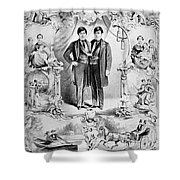 Chang And Eng Bunker, The Original Shower Curtain