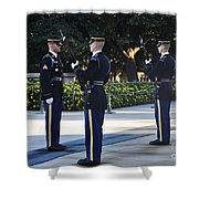 Changing Of The Guards  Shower Curtain