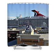 Channelside Tampa Shower Curtain