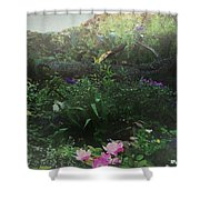 Chaos In Morning Mist Shower Curtain