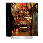 Chaos Of Color Shower Curtain