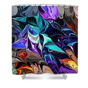 Chaotic Visions Shower Curtain