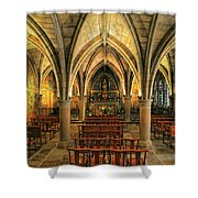 Chapel In Dordogne France Shower Curtain