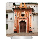 Chapel Of Conception In Cordoba Shower Curtain