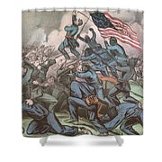 Charge Of The 54th Massachusetts Shower Curtain
