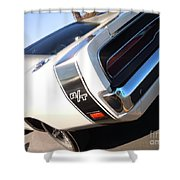 Charger Rt Shower Curtain