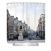 Charing Cross In London Shower Curtain