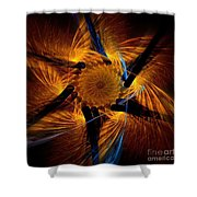 Chariots Of Fire Shower Curtain