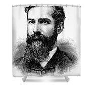 Charles Betts Galloway Shower Curtain