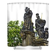 Charles Bridge - Prague Shower Curtain