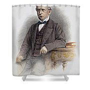 Charles Francis Adams Shower Curtain