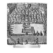 Charles I (1600-1649) Shower Curtain