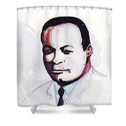 Charles Richard Drew Shower Curtain