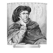 Charles Vi (1368-1422) Shower Curtain