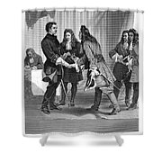Charles Xii And Stanislas I Shower Curtain