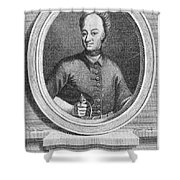 Charles Xii Of Sweden Shower Curtain
