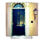 Charleston Door 1 Shower Curtain
