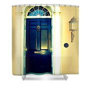 Charleston Door 2 Shower Curtain