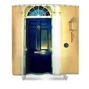 Charleston Door 3 Shower Curtain