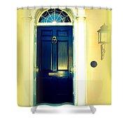 Charleston Door 4 Shower Curtain