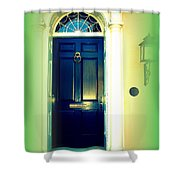 Charleston Door 5 Shower Curtain