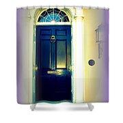 Charleston Door 6 Shower Curtain