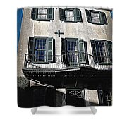 Charleston Houses Shower Curtain