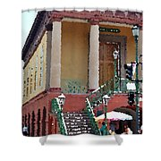 Charleston Market1 Shower Curtain