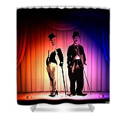 Charlie And Marilyn Shower Curtain