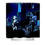 Winterland Blues 1975 Shower Curtain