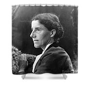 Charlotte Perkins Gilman Shower Curtain