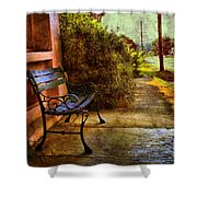 Charming Milton Morning Shower Curtain