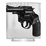 Charter Arms Revolver Shower Curtain