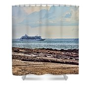Charting The North East Passage Shower Curtain