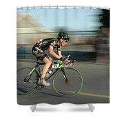 Chasing The Pack Shower Curtain