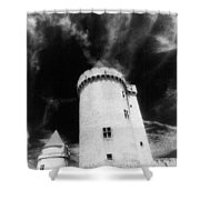 Chateau De Blandy Les Tours Shower Curtain