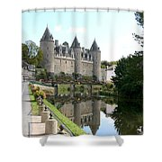 Chateau De Josselin Shower Curtain