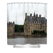 Chateau De La Bretesche Shower Curtain