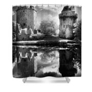 Chateau De Largoet Shower Curtain